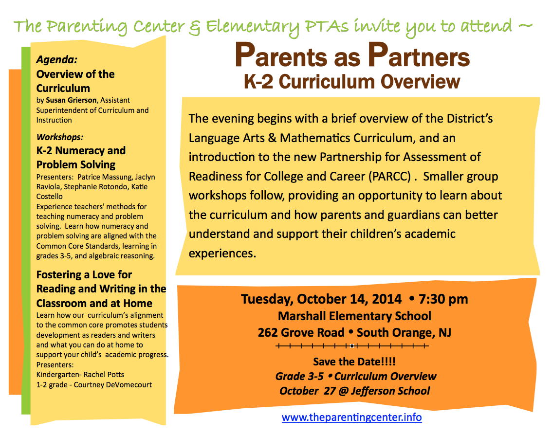 2014 Parents as Partners
